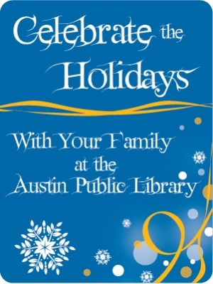 austin public library holiday events