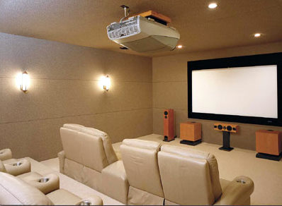 luxury theatre room