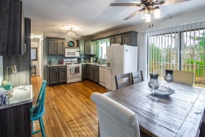 A well-staged home, ready for showing