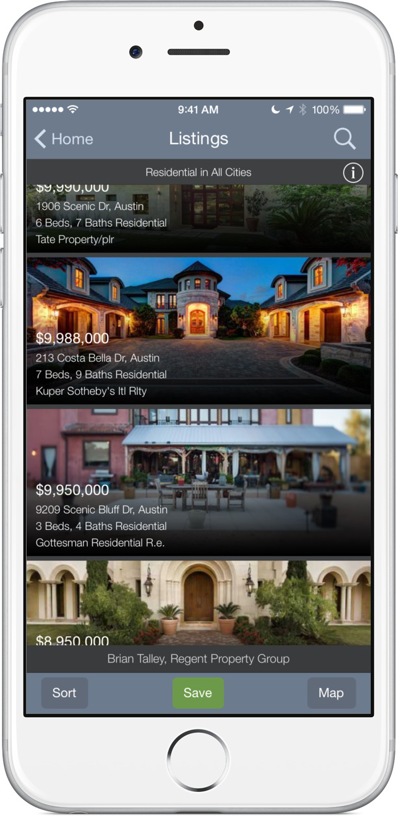 Austin home search App Regent Property Group